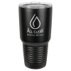 Stainless Steel Ringneck Double Wall Insulated Tumbler -Black/No Ring Promotional Mugs