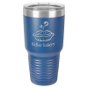 Stainless Steel Ringneck Double Wall Insulated Tumbler -Royal Blue Promotional Mugs