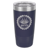 Stainless Steel Ringneck Double Wall Insulated Tumbler -Navy Blue  Promotional Mugs