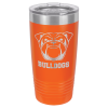 Stainless Steel Ringneck Double Wall Insulated Tumbler -Orange  Promotional Mugs