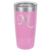 Stainless Steel Ringneck Double Wall Insulated Tumbler -Light Purple  Promotional Mugs