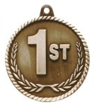 High Relief Medal-1st Place Cheerleading Trophy Awards