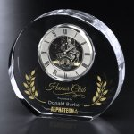Burke Clock Clock Crystal Awards