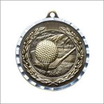 Diamond Cut Medal - Golf Diamond Cut Medal Awards