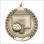 Die Cast Medal - Basketball Die Cast Medal Awards