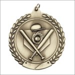 Die Cast Medal - Baseball Die Cast Medal Awards