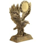 Eagle W/ 2 Ins Holder Resin Eagle Resin Trophy Awards