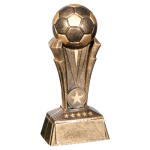 Champion Award Resin -Soccer  Gold Resin Trophy Awards