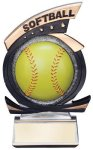 Gold Star Award -Softball Gold Star Resin Trophy Awards