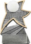 Jazz Star Resin -Volleyball Jazz Star Resin Trophy Awards