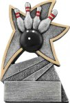Jazz Star Resin -Bowling Jazz Star Resin Trophy Awards