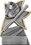 Jazz Star Resin -Baseball Jazz Star Resin Trophy Awards