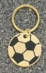 Soccer Ball Key Ring Key Rings