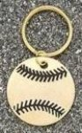 Baseball/Softball Key Ring Key Rings