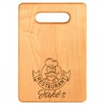 Solid Maple Rectangle Cutting Board Kitchen Gifts