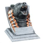 Mascot Resin Awards -Bear Mascot Resin Trophy Awards