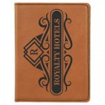 Leatherette Passport Holder -Rawhide Misc. Gift Awards