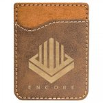 Leatherette Phone Wallet -Rustic/Gold Misc. Gift Awards