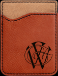 Leatherette Phone Wallet -Rawhide Misc. Gift Awards