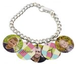 Bracelet with 5 Round Charms Misc. Gift Awards