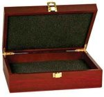 Rosewood Finish Gift Box Misc. Gift Awards