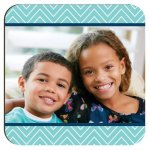 Gloss White Hardboard Square Coaster Misc. Gift Awards
