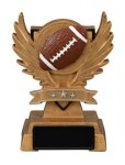 Victory Wing Resin Figure -Football Multi-Activity Mylar Resin Trophy Awards
