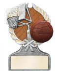 Multi Color Sport Resin Figure -Basketball Multi Color Sport Resin Trophy Awards