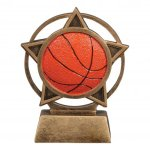 Orbit Resin Awards -Basketball Orbit Resin Trophy Awards