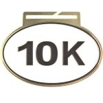 Large Oval -10K Oval Medal Awards
