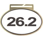 Large Oval -26.2 Oval Medal Awards