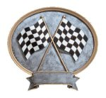 Legend Oval Award -Racing  Oval Resin Trophy Awards