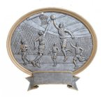 Legend Oval Award -Basketball Oval Resin Trophy Awards