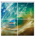 Glossy Aluminum Square Panel Mural Photo Gift Items