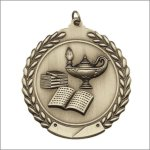 Scholastic Medal - Lamp of Knowledge Scholastic Medal Awards