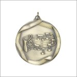 Scholastic Medal - Music Note Scholastic Medal Awards
