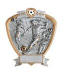Signature Series Shield Awards -Soccer Signature Shield Resin Trophy Awards