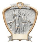Signature Series Shield Award -Wrestling Signature Shield Resin Trophy Awards