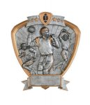 Signature Series Shield Award -Football Signature Shield Resin Trophy Awards