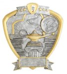 Signature Series Shield Award -Knowledge Signature Shield Resin Trophy Awards