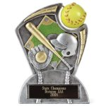 Large Spin Award -Softball Spin Resin Trophy Awards