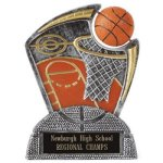 Large Spin Award -Basketball Spin Resin Trophy Awards