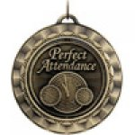 Spinner Medals -Perfect Attendance Spinner Medal Awards