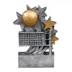 Star Blast Award -Volleyball Star Blast Resin Trophy Awards