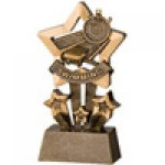 Star Resin Awards -Swimming  Star Step Resin Trophy Awards