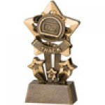 Star Resin Awards -Track Star Step Resin Trophy Awards