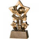 Star Resin Awards -Soccer  Star Step Resin Trophy Awards