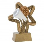 Stars and Stripes Resin Awards -Cheer Stars & Stripes Resin Trophy Awards