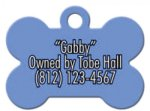 Dog Bone Pet Tag Street Tag Gifts