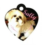 Heart Pet Tag Street Tag Gifts